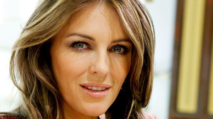 Elizabeth Hurley shares her simple tips for glowing skin.