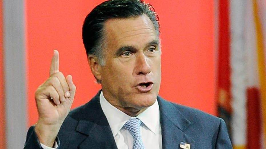 Mitt Romney addresses NAACP convention