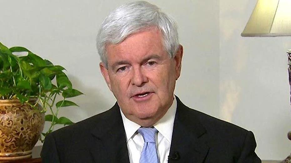 Newt Gingrich Sounds Off on Debt Crisis