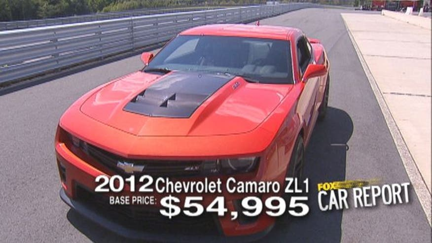 Fox Car Report drives the 2012 Chevrolet Camaro ZL1