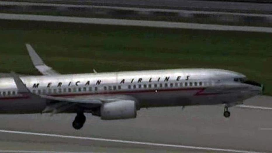 American Airlines plane with mechanical problem lands in FL