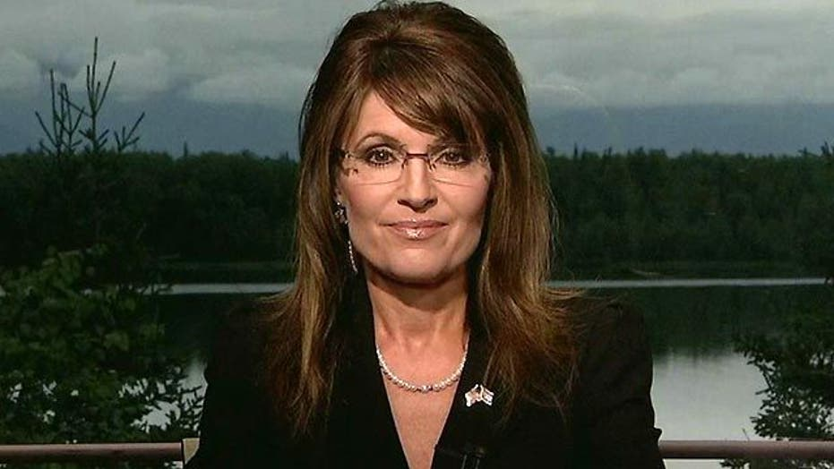 Sarah Palin Sounds Off on Debt Crisis