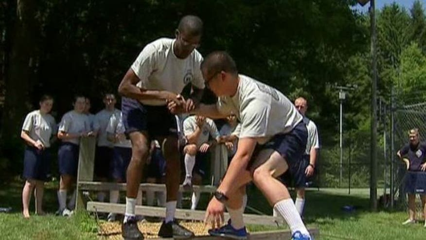 Smallest class in a decade begins training at Coast Guard Academy