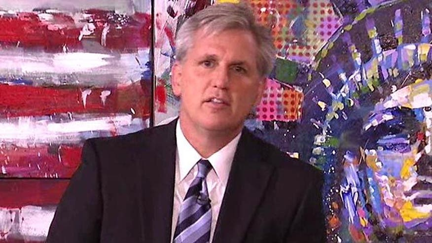 House Republican Whip Kevin McCarthy on debt debate