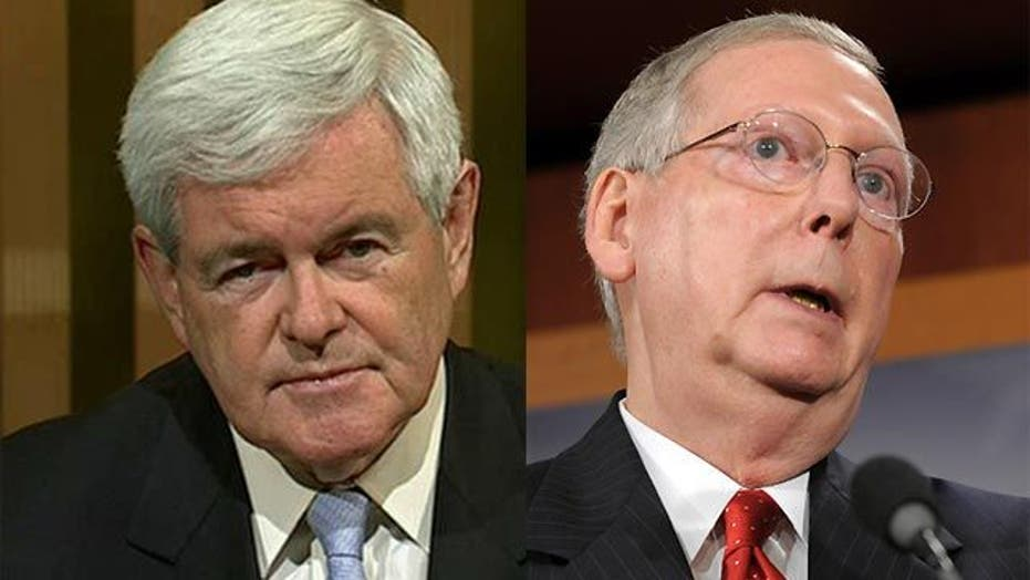 Newt Gingrich on McConnell's Backup Debt Plan