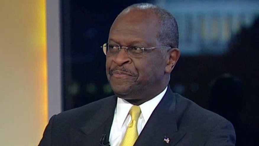 Presidential hopeful Herman Cain reveals how he would handle the debt struggle, addresses Sheila Jackson Lee's claim of racism in debate