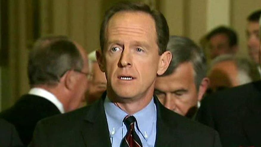 Sen. Pat Toomey on potential plans, balancing the budget