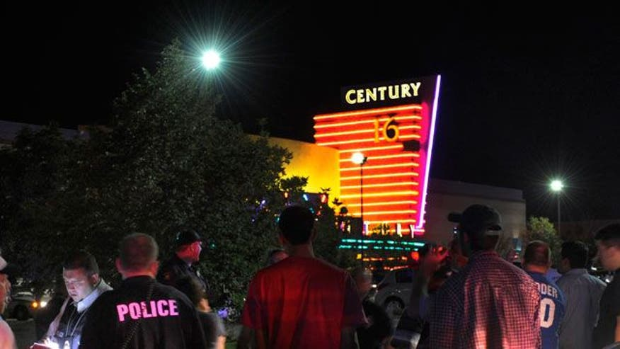 Dozens shot inside Colorado theater