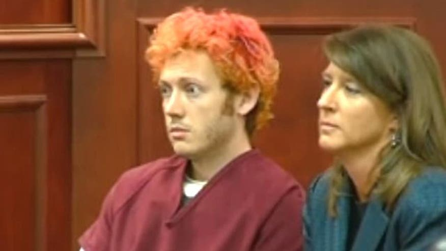 James Holmes appears before judge