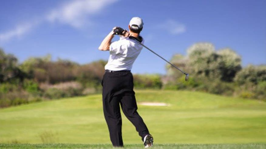 Dr. Manny Alvarez talks to an orthopedic surgeon about how to stay healthy on the course