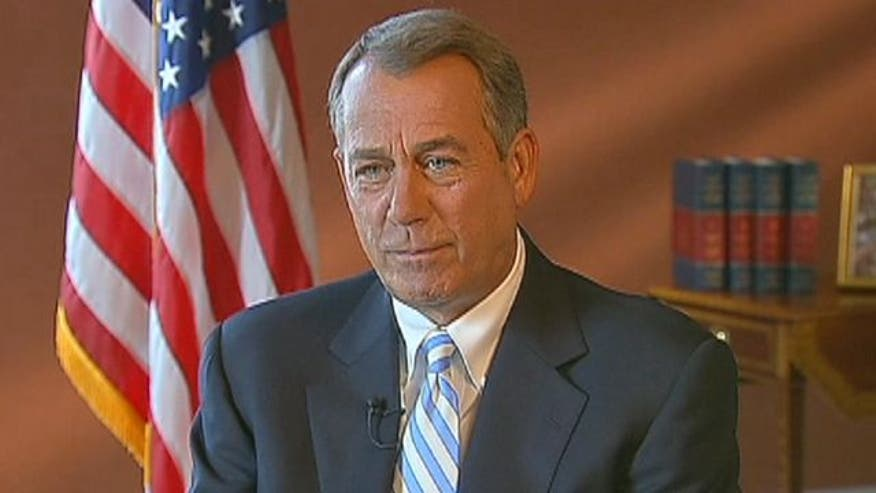 Boehner tells Greta why Congress can't seem to get anything done