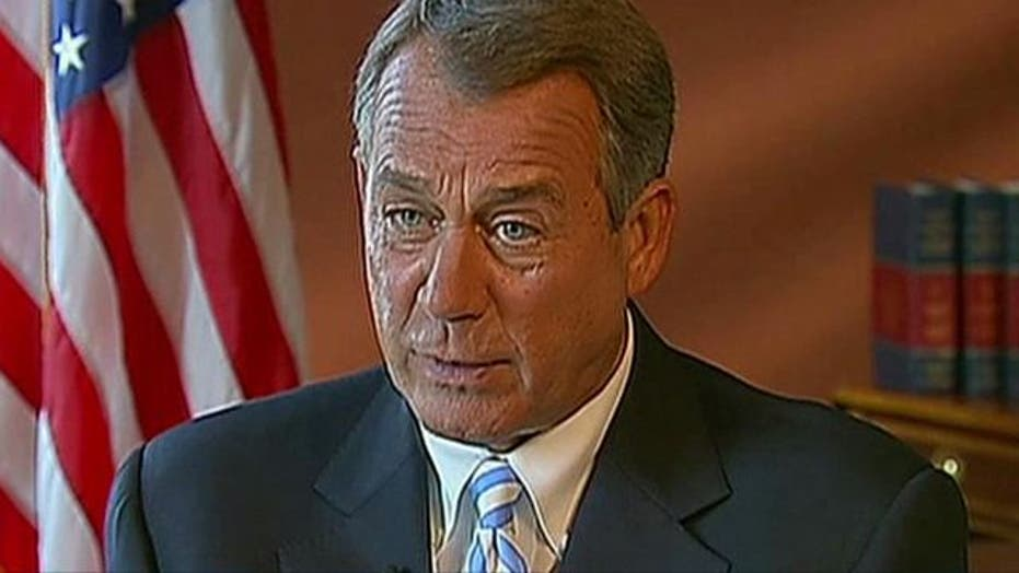 Boehner: Obama faces referendum on economy