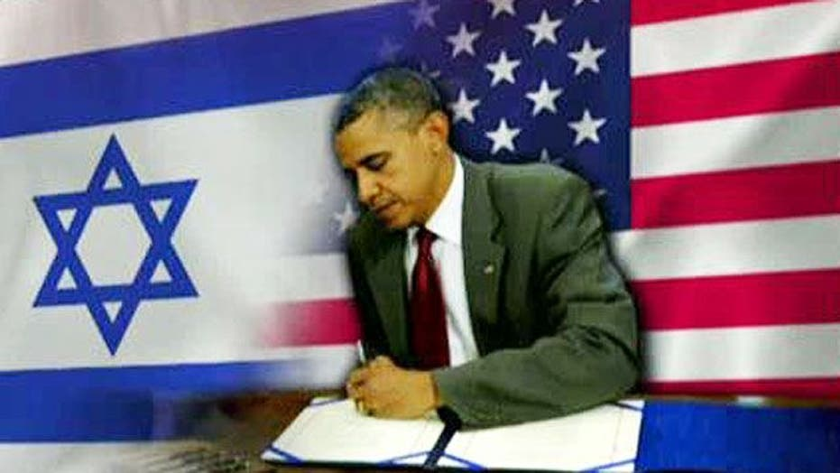Obama sends aid to Israel ahead of Romney visit