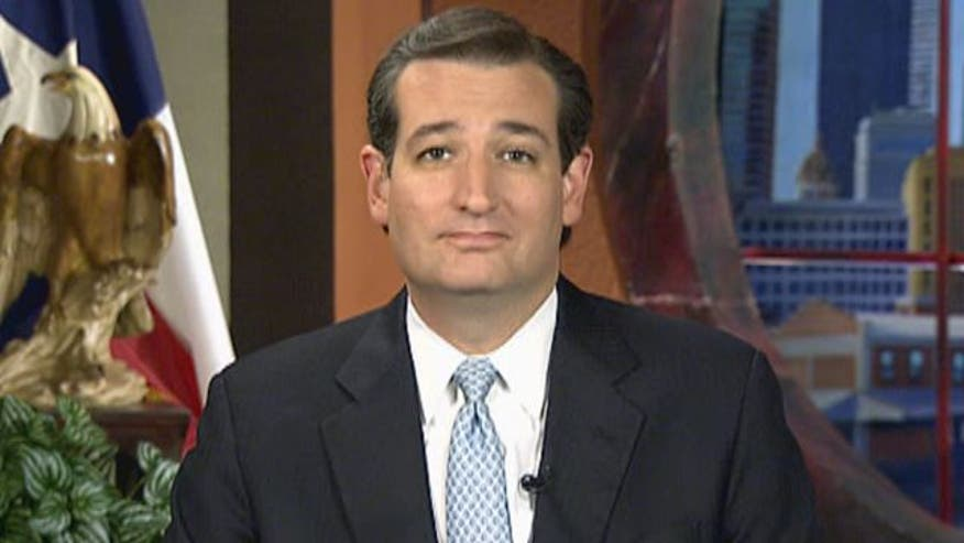 U.S. Senate candidate Ted Cruz on the race