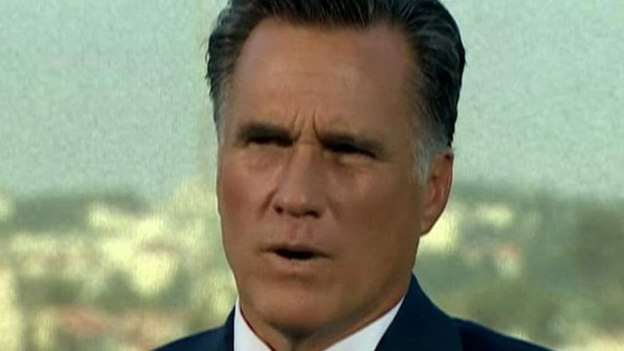 Mitt Romney 'On the Record,' Pt. 1: GOP presidential candidate on Middle East conflict, Israel vs. Iran