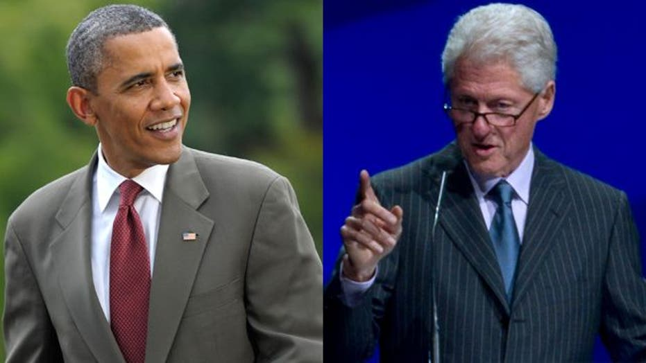 Obama taps Bill Clinton to play role at DNC convention