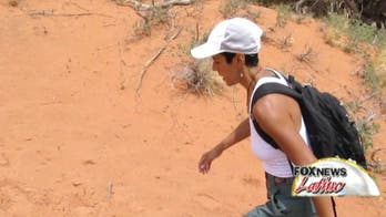 Shawn Feliciano Garber Hikes Through Arizona For Multiple Sclerosis