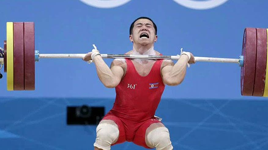 North Korean weightlifting champ's remarks