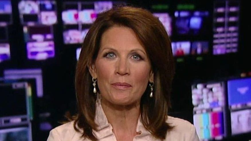 GOP presidential candidate Michele Bachmann on her vote against debt deal