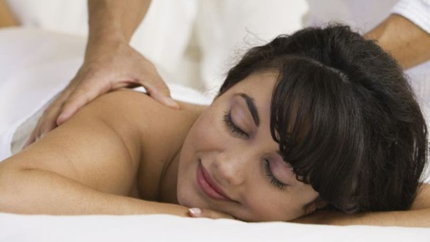 Pamper your partner with an at-home massage