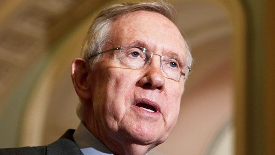 Reid abusing his power to attack Romney?