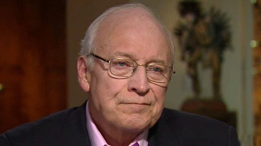 Former vice president on Romney's candidacy, veepstakes
