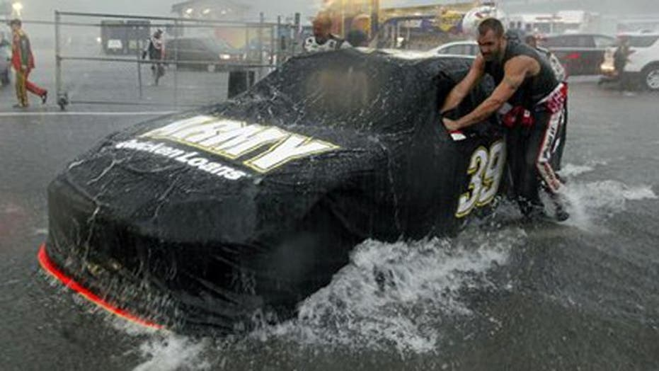 Did NASCAR do enough to warn spectators about storm?