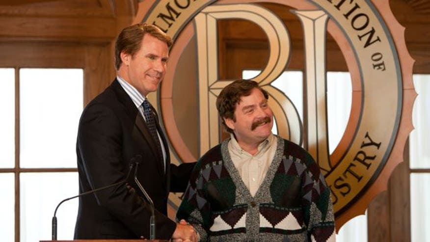Ferrell and Galifinakis play petty political rivals