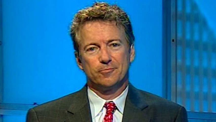 Sen. Rand Paul reacts to attack on Tea Party