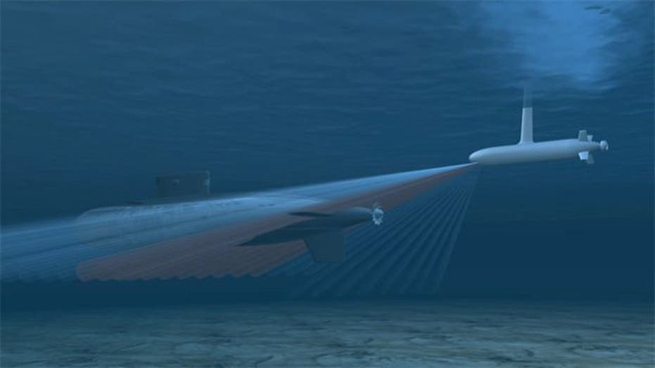 Hunt for submarines in dangerous waters