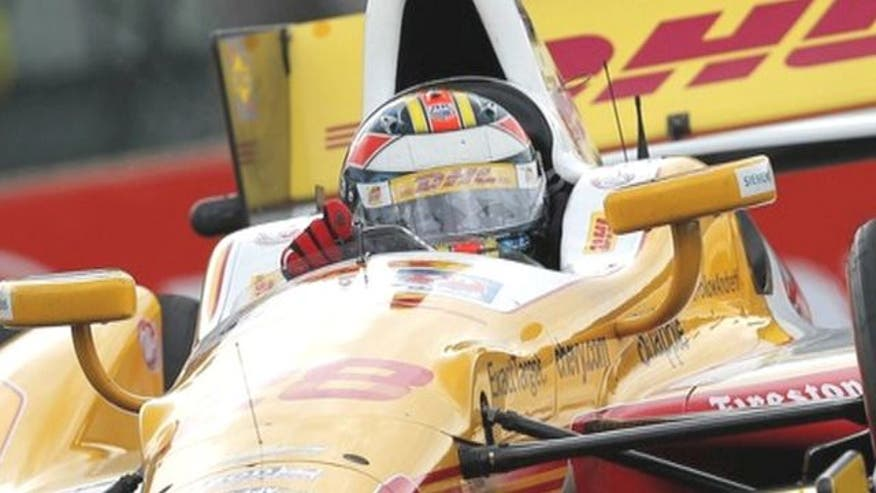 Fox Car Report talks to Indycar star Ryan Hunter-Reay about racing for the championship and with his wife