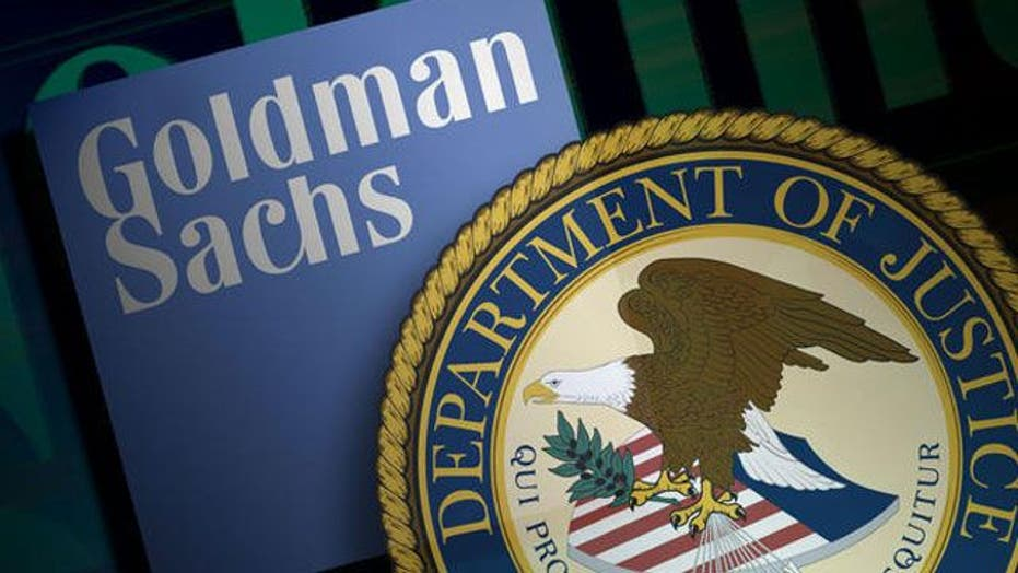 No charges for Goldman Sachs over US financial crisis