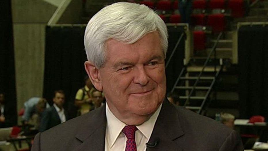 Newt Gingrich on Media's 'Gotcha' Questions