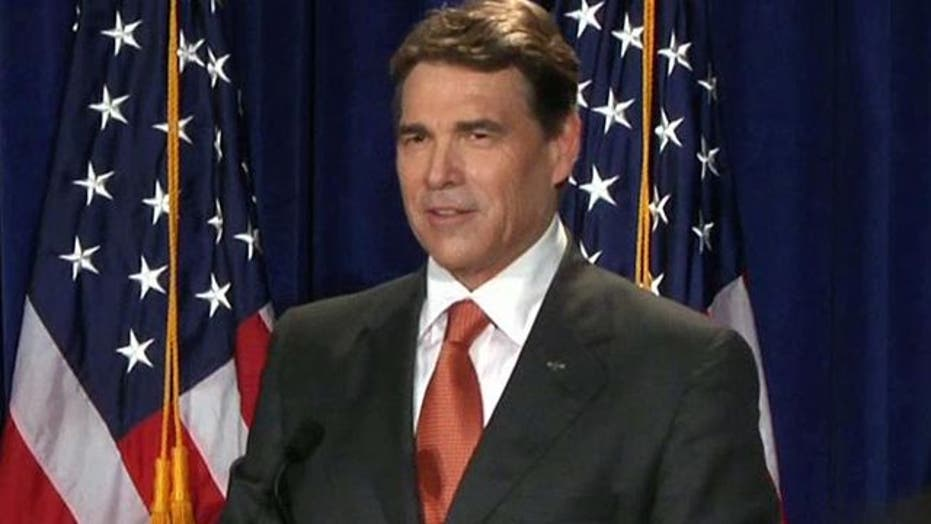 Rick Perry Announces Run for Presidency