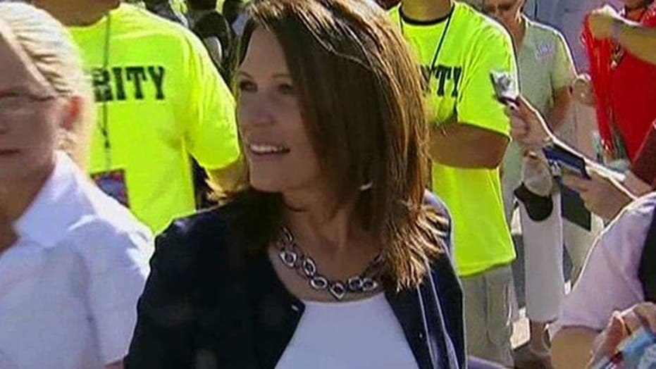 Michele Bachmann Wins Iowa Straw Poll