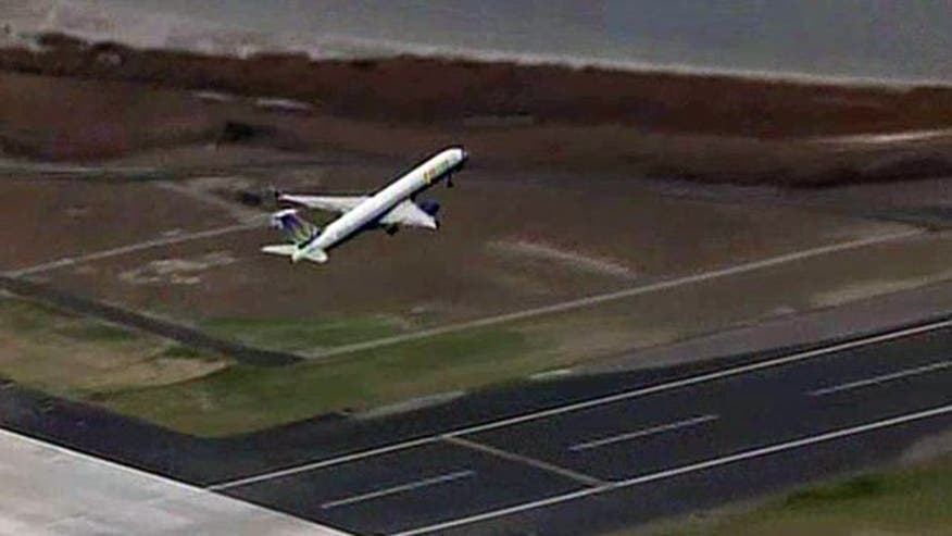 Man stranded near JFK enters secure area in search of help