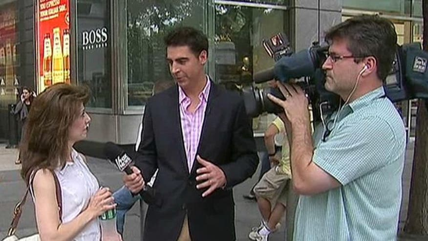 Producer Jesse Watters quizzes folks from different countries on presidential politics
