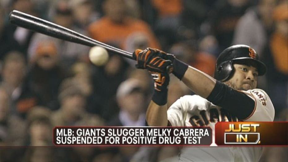 Cabrera Suspended for Positive Drug Test