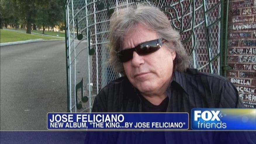 Grammy award winning musician Jose Feliciano honors Elvis on 35th anniversary of his passing.