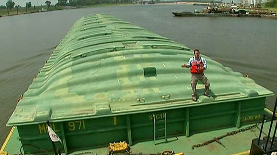 Severe drought affects operations on mighty Mississippi