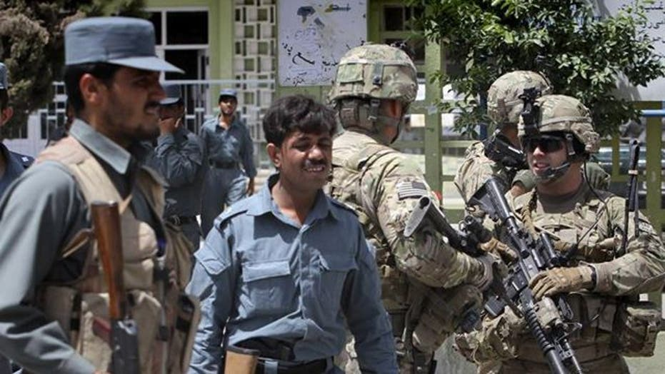 Afghan policeman opens fire, kills 2 US troops