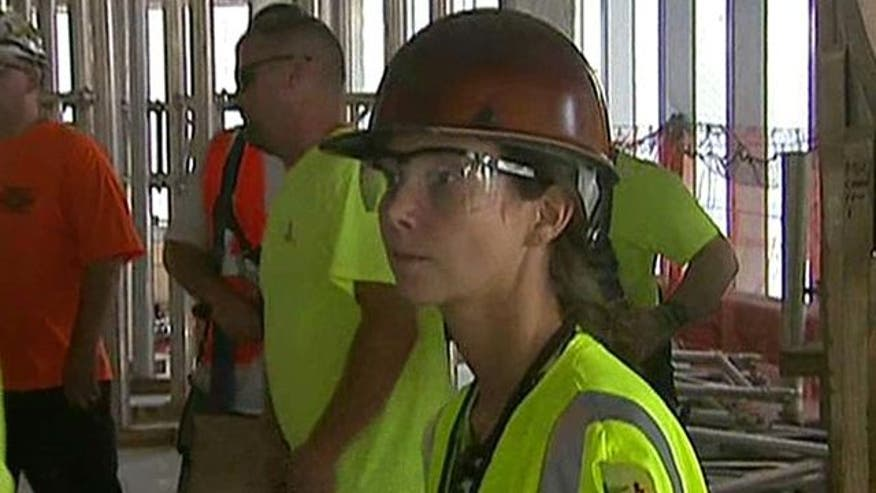 Architect Nicole Dosso works hard to make sure everything on paper becomes a reality at One World Trade Center
