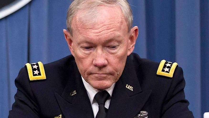 Gen. Dempsey assessing 'green on blue' killings