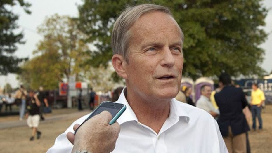 Rep. Akin's 'rape' comment draws widespread criticism