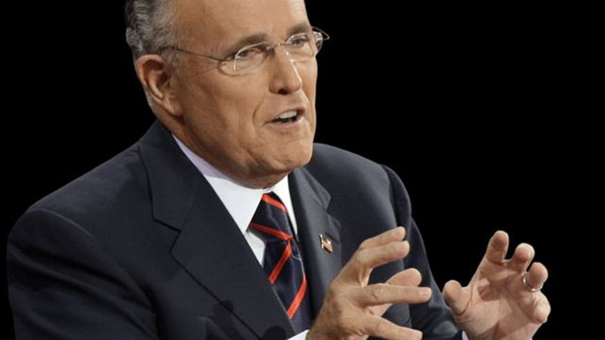 Former Mayor Rudy Giuliani takes on Pres. Obama's 'imaginary recovery' and the CBO's projected $1.1 trillion deficit for 2012