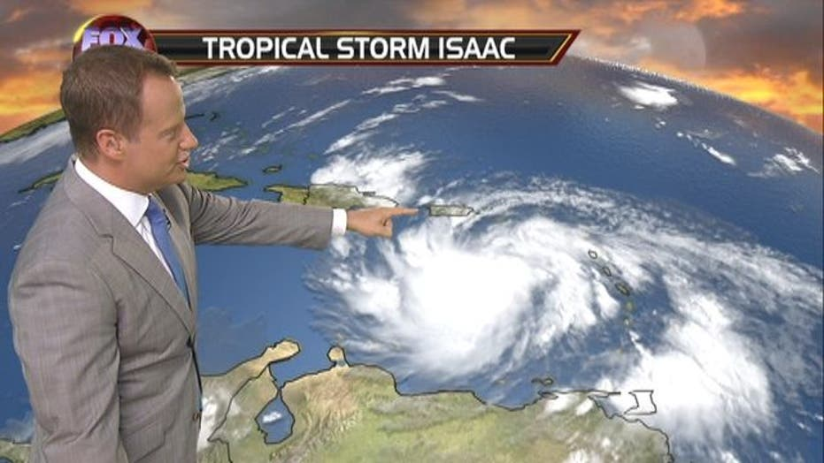 Isaac Could Become a Hurricane