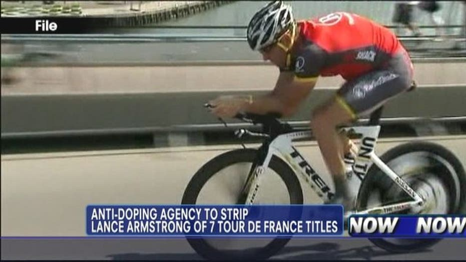 Lance Armstrong Chooses Not to Fight USADA Charges