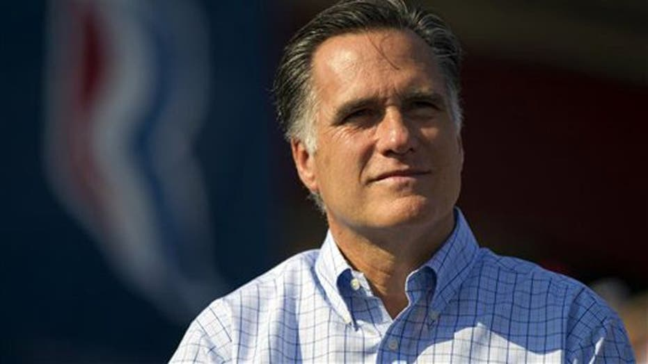 How can Mitt Romney connect to voters?