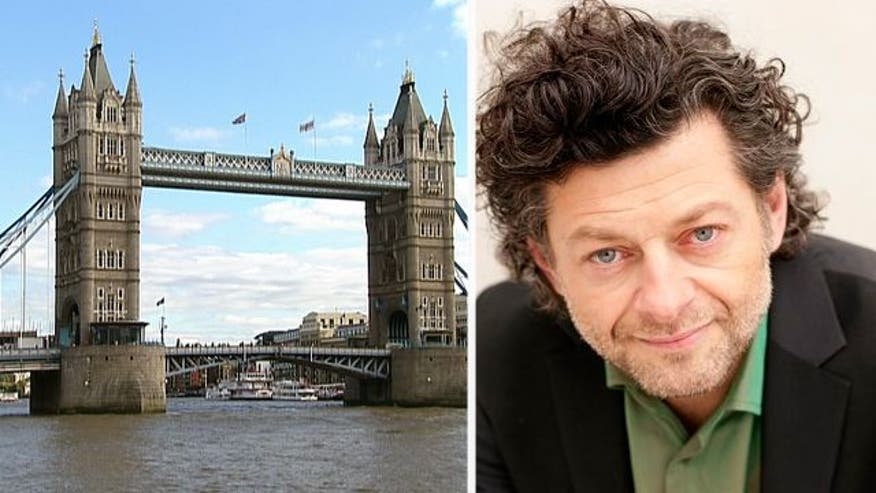 "British actor Andy Serkis, currently in ""Planet of the Apes,"" talks about his hometown of London"