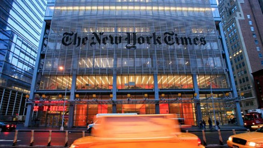 New York Times public editor: Progressive worldview 'bleeds through' the paper